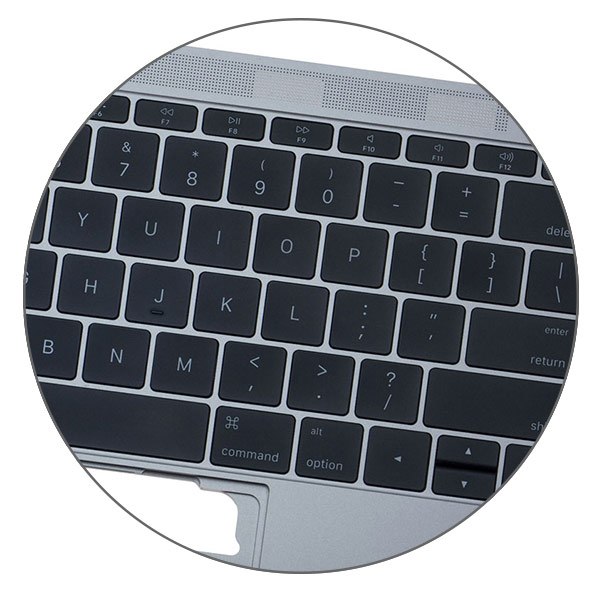 Замена клавиатуры MacBook 12
