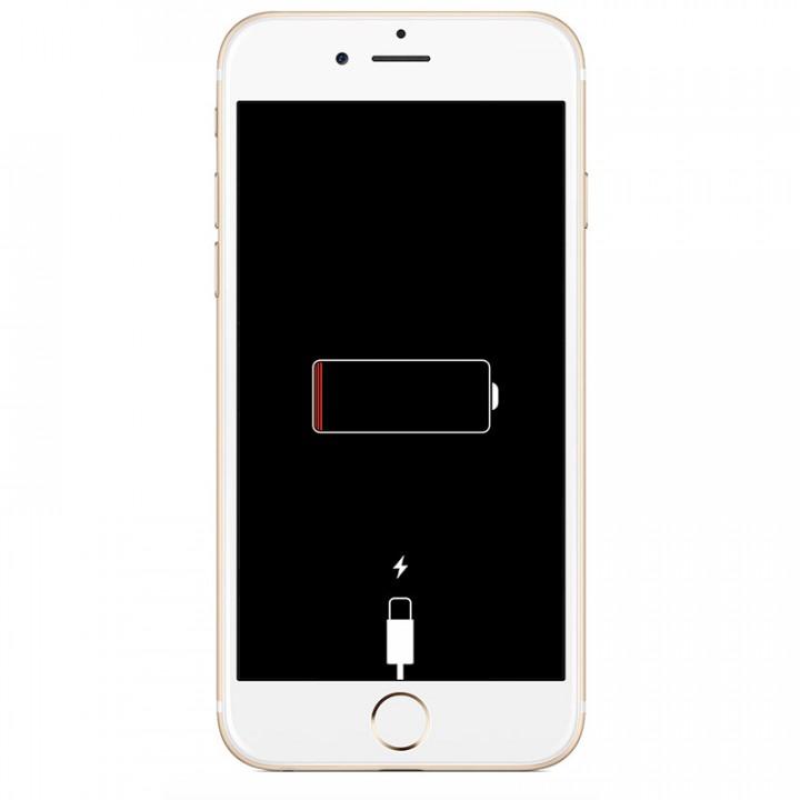 Аккумулятор iPhone разряжен