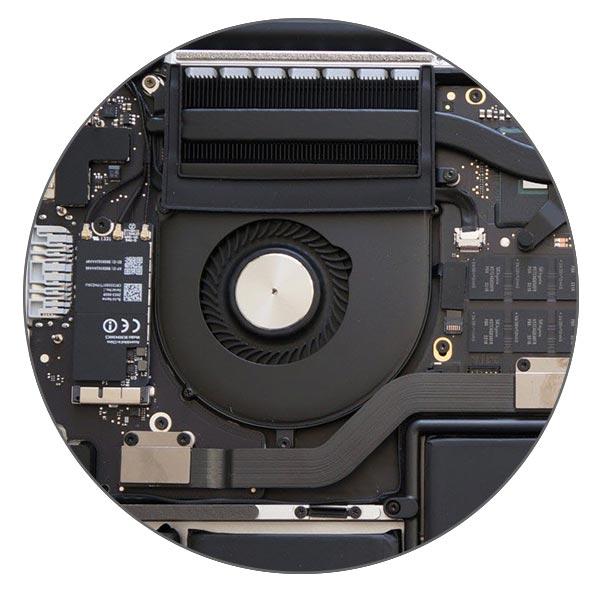 Чистка MacBook Pro Retina от пыли