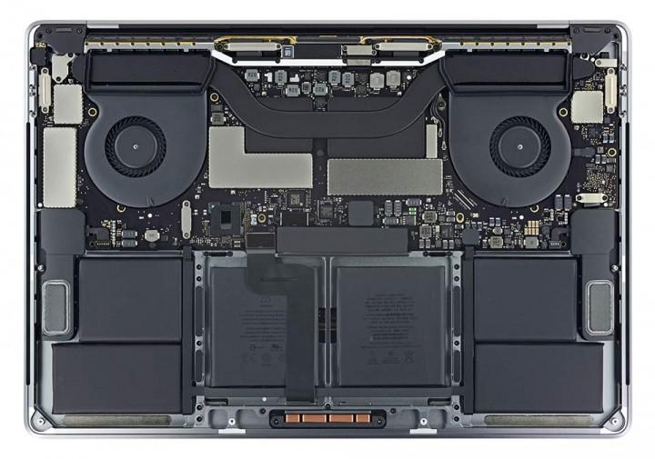 Замена аккумуляторной батареи MacBook Pro Touch Bar