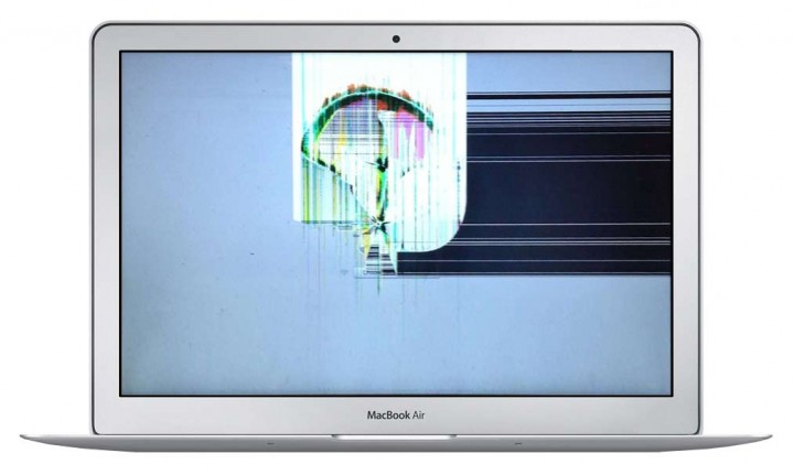 Замена матрицы MacBook Air