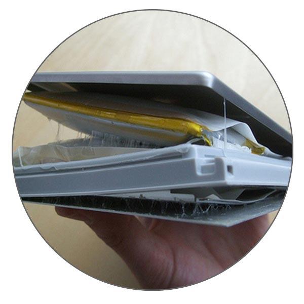 Аккумулятор может вздуться и повредить MacBook