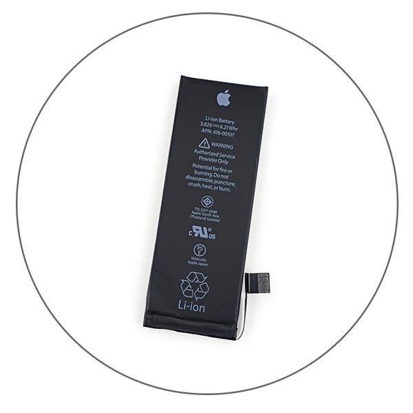 Замена батареи iPhone SE