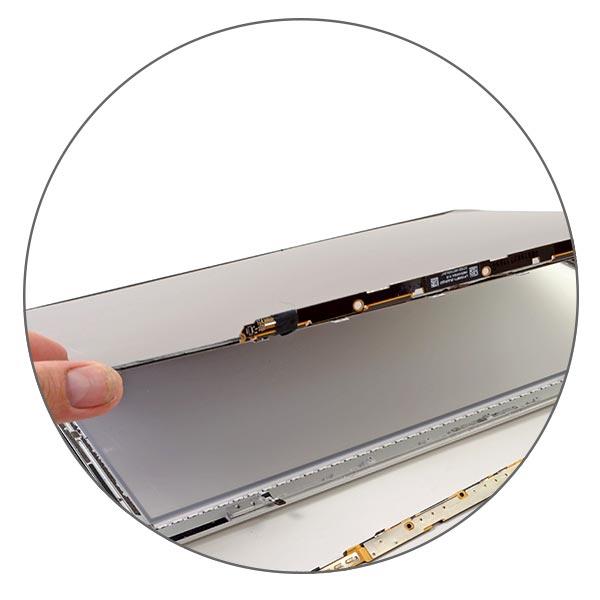 Матрица MacBook Pro Retina вклеена в корпус