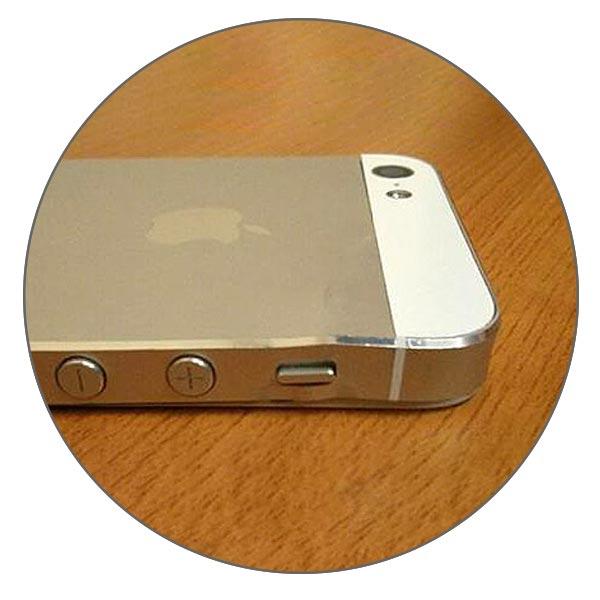 Вмятины на корпусе iPhone 5