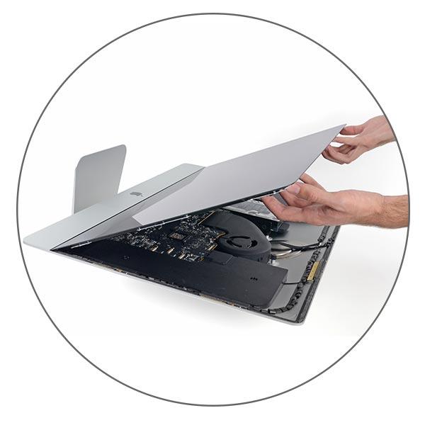 Замена дисплея в сборе со стеклом iMac 21,5 A1418