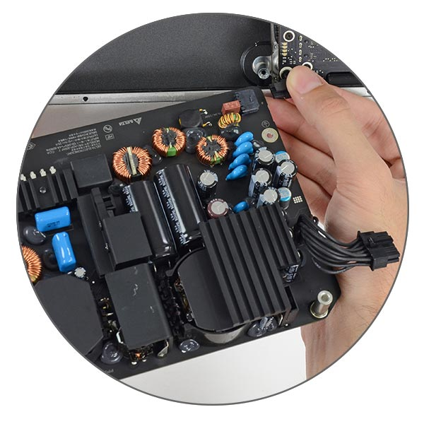 Замена блока питания iMac 27 A1419