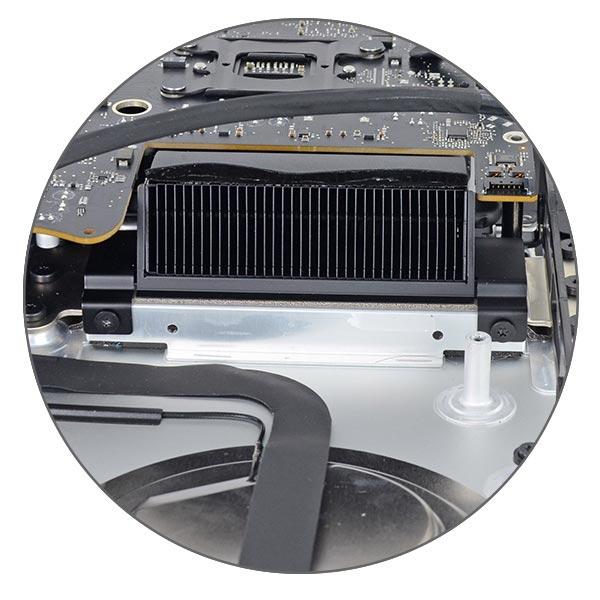 Чистка от пыли и замена термопасты iMac 27 A1419