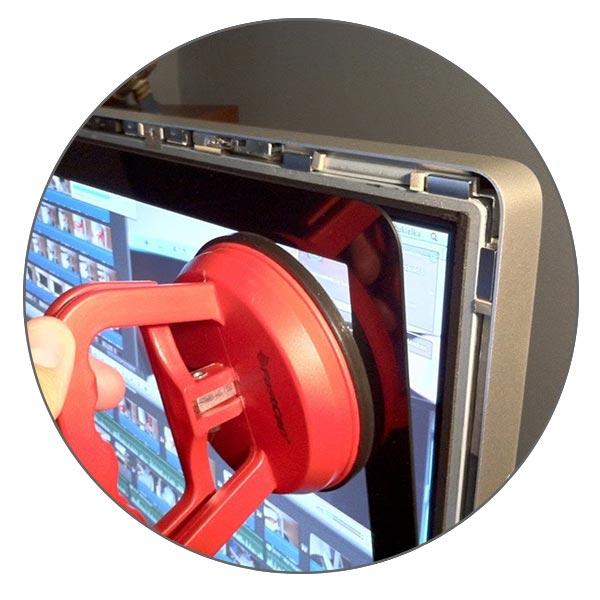 Чистка стекла и матрицы iMac 27″ A1312