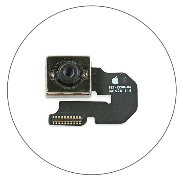 Ремонт и замена камеры iPhone 6 Plus