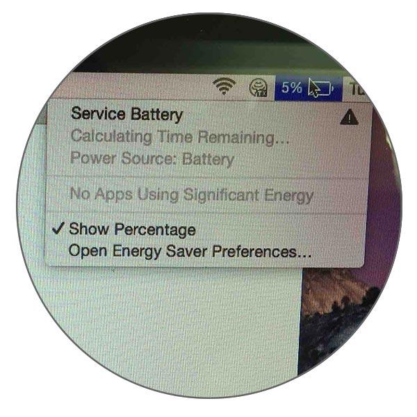 Service battery / Требуется обслуживание