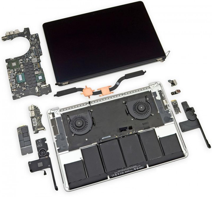 Апгрейд MacBook Pro Retina